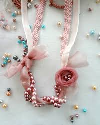 pearl necklace with ribbon images Little treasures ribbon and pearls necklace a diy jpg