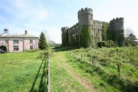 Castle For Sale by Ruined Welsh Castle Where King Charles I Stayed For Sale