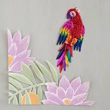 Parrot Decorations Home Christmas Collection Pompom U0026 Twiddle Pompom U0026 Twiddle