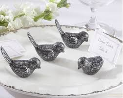 resin bird retro place card holder for wedding decorations