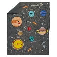 Spaceship Crib Bedding by Deep Space Baby Quilt The Land Of Nod