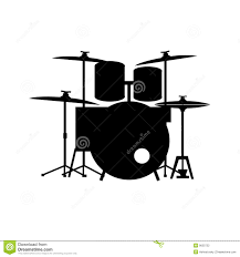 full equipped drum kit vector stock photography image 9650722