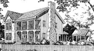 Southern Living House Plans With Porches Stone U0026 Cedar Farmhouse Philip Franks Southern Living House Plans