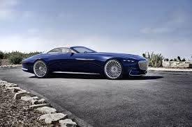mercedes classic convertible vision mercedes maybach 6 cabriolet is the future of electric