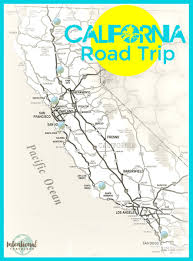 Henry Cowell State Park Map by California Road Trip Stops North To South Intentional Travelers