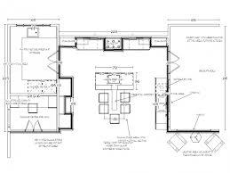 u shaped kitchen floor plan kitchen best kitchen floor plans beautiful ideal kitchen size and