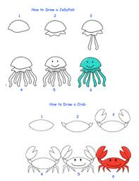 how to draw sea creatures fun activities activities and students