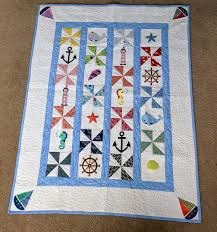 Nautical Quilts Cm Quilts Gallery Long Arm Quilting And Sewing Services