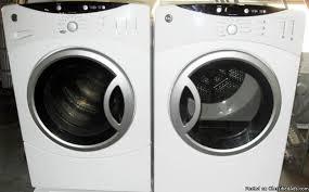 Front Load Washer With Pedestal Cobalt Blue Washer And Dryer Royal Blue Cap160dbl 16 Farad