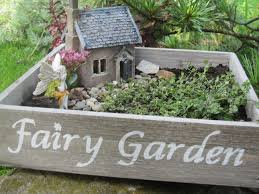 diy pictures of fairy gardens with small plants furniture great