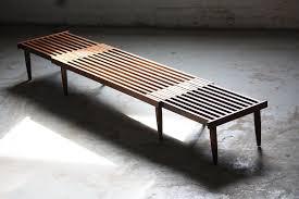 Slat Bench Coffee Table Dashing Mid Century Modern Expandable Slat Bench Coffee Ta U2026 Flickr