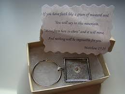 faith gifts mustard seed keychain christian keyring faith of a mustard