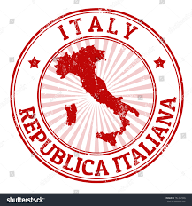 Rimini Italy Map by Grunge Rubber Stamp Name Map Italy Stock Vector 151402340