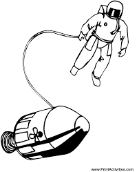 astronaut coloring page printable space coloring pages coloring home