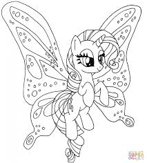 rarity pony download cartoon coloring page cartoon fluttershy