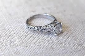 engagements rings vintage images Vintage engagement ring trends mywedding jpg