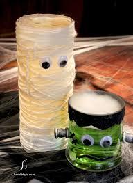 Halloween Mummy Crafts by Mummy Vase Centerpiece Instructions Recipe Centrepieces