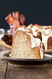 banana bacon bundt cake liv for cake