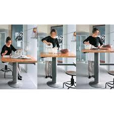 küche bartisch topmotion säulenfuß für steh sitz tisch bartisch verstellbarer