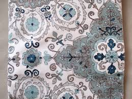Paisley Shower Curtain Blue by New Caro Home Shower Curtain French Country Floral Medallion Greys