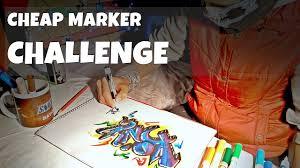 graffiti konig cheap marker challenge new technique