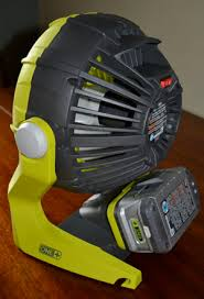 ryobi fan and battery ryobi 18 volt one portable fan review on tool box buzz tool box buzz