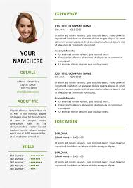 best template for resume resume template in word peelland fm tk