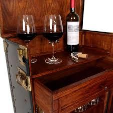 Steamer Bar Cabinet Vintage Steamer Trunk Bar Cabinet Steamer Trunk Top Drinks And