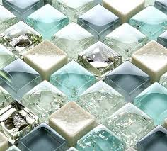 Glass Tiles Bathroom Best 25 Blue Glass Tile Ideas On Pinterest Coastal Inspired