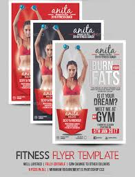 fitness flyer template fitness coach flyer template by blogankids graphicriver