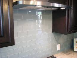 Glass Backsplash For Kitchen by Gray Glass Subway Tile Backsplash Outofhome