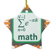 math problem ornaments keepsake ornaments zazzle