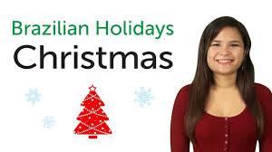 learn brazilian portuguese holidays christmas