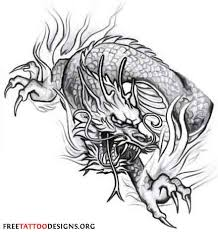 japanese dragon head tattoo design photos pictures and sketches