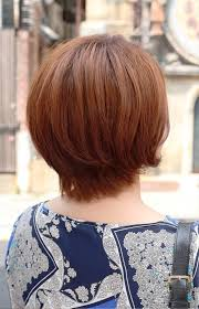 layered short hairstyles back view