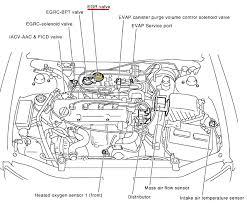 p0400 2001 nissan altima sedan exhaust gas recirculation function