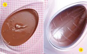 hollow chocolate egg mold easy easter treat recipe how to make hollow chocolate easter eggs
