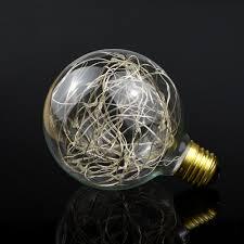 incandescent strip light bulbs e27 ac85 265v led globe decorative l bulb fairy lights g95 magic