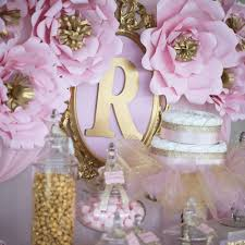 baby shower table centerpieces shimmering pink and gold baby shower baby shower ideas themes