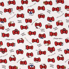 hello bow white hello bow oxford fabric 2 huahua