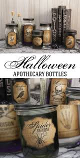 halloween apothecary jar labels 17turtles halloween apothecary bottles halloween printable included