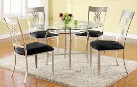 Modern Dining Room Table And Chairs by Furniture Oval Glass Dining Table Dining Room Contemporary With