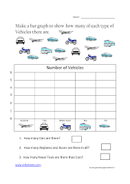 Math Worksheets For First Grade Kindergarten Graphing Worksheets Photocito