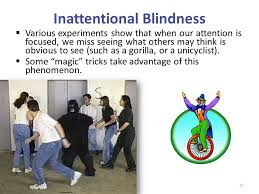 Inattentional Blindness Definition Powerpoint Presentation By Jim Foley Ppt Download