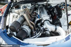 Grand National Engine Specs Horsepower Wars The Engine Bays Of Formula Drift 2015 Speedhunters