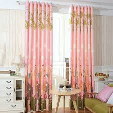 Kids Blackout Eyelet Curtains Adorable Elephant Curtains For Nursery And Affordable Pink