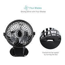 ventilateur de bureau homasy mini ventilateur usb portable de bureau alimenté par usb et