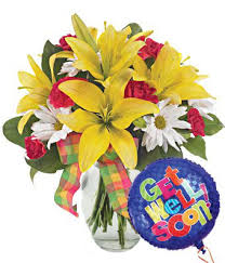 Get Well Soon Flowers Sunny Celebration Get Well At From You Flowers