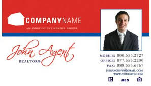 real estate business card 068 custom printing request