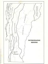 South Us Region Blank Map by The Physiographic Regions Of Vermont